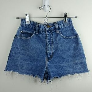 Vintage 90's High-Waisted Denim Shorts